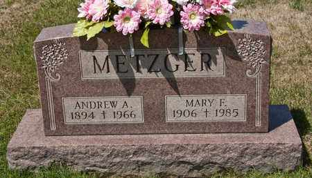 METZGER, ANDREW A - Richland County, Ohio | ANDREW A METZGER - Ohio Gravestone Photos