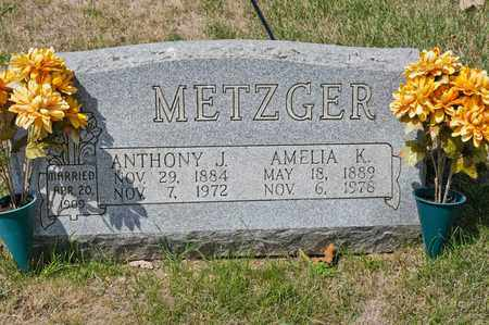 METZGER, ANTHONY J - Richland County, Ohio | ANTHONY J METZGER - Ohio Gravestone Photos