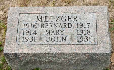 METZGER, MARY - Richland County, Ohio | MARY METZGER - Ohio Gravestone Photos