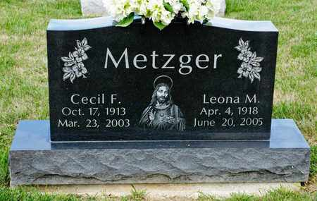 METZGER, CECIL F - Richland County, Ohio | CECIL F METZGER - Ohio Gravestone Photos