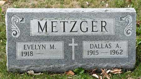 METZGER, DALLAS A - Richland County, Ohio | DALLAS A METZGER - Ohio Gravestone Photos