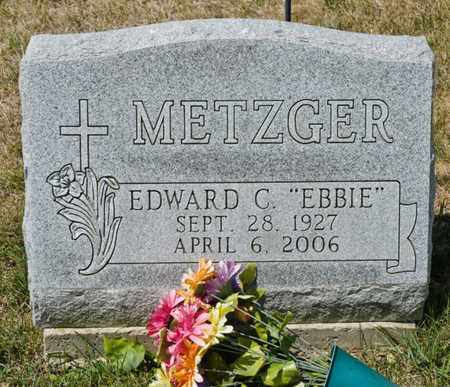 METZGER, EDWARD C - Richland County, Ohio | EDWARD C METZGER - Ohio Gravestone Photos