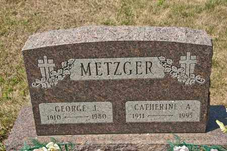 METZGER, CATHERINE A - Richland County, Ohio | CATHERINE A METZGER - Ohio Gravestone Photos