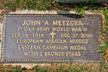 METZGER, JOHN A - Richland County, Ohio | JOHN A METZGER - Ohio Gravestone Photos