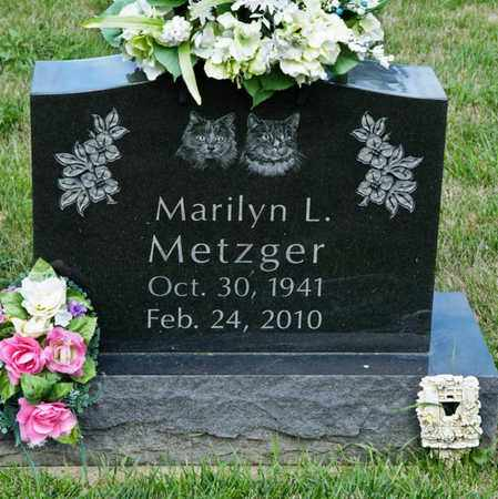 METZGER, MARILYN L - Richland County, Ohio | MARILYN L METZGER - Ohio Gravestone Photos