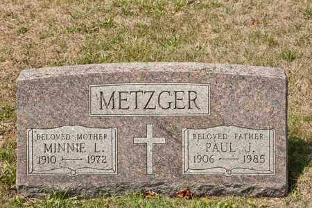 METZGER, MINNIE L - Richland County, Ohio | MINNIE L METZGER - Ohio Gravestone Photos