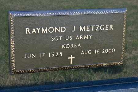 METZGER, RAYMOND J - Richland County, Ohio | RAYMOND J METZGER - Ohio Gravestone Photos