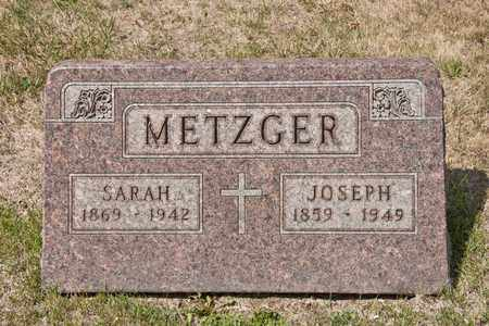 METZGER, SARAH - Richland County, Ohio | SARAH METZGER - Ohio Gravestone Photos