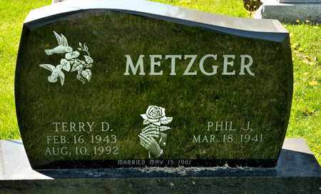 METZGER, TERRY D - Richland County, Ohio | TERRY D METZGER - Ohio Gravestone Photos