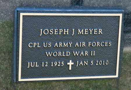 MEYER, JOSEPH J - Richland County, Ohio | JOSEPH J MEYER - Ohio Gravestone Photos