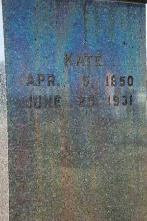 MICHAEL, KATE - Richland County, Ohio | KATE MICHAEL - Ohio Gravestone Photos
