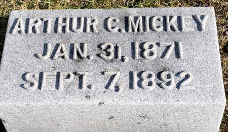 MICKEY, ARTHUR C - Richland County, Ohio | ARTHUR C MICKEY - Ohio Gravestone Photos