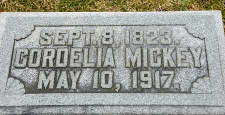 MICKEY, CORDELIA - Richland County, Ohio | CORDELIA MICKEY - Ohio Gravestone Photos