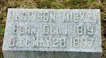 MICKEY, HARRISON - Richland County, Ohio | HARRISON MICKEY - Ohio Gravestone Photos