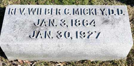 MICKEY, WILBER C - Richland County, Ohio | WILBER C MICKEY - Ohio Gravestone Photos
