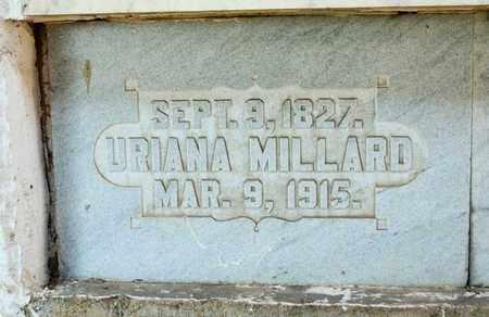 MILLARD, URIANA - Richland County, Ohio | URIANA MILLARD - Ohio Gravestone Photos