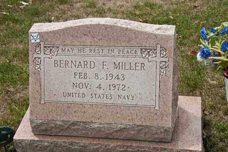 MILLER, BERNARD F - Richland County, Ohio | BERNARD F MILLER - Ohio Gravestone Photos