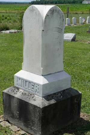 MILLER, ELI B - Richland County, Ohio | ELI B MILLER - Ohio Gravestone Photos