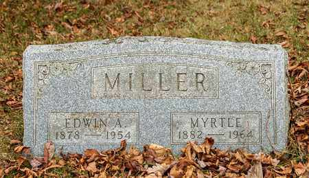 MILLER, EDWIN A - Richland County, Ohio | EDWIN A MILLER - Ohio Gravestone Photos