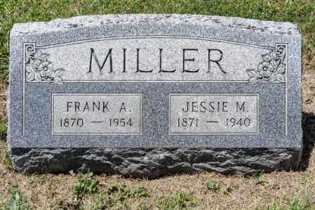MILLER, FRANK A - Richland County, Ohio | FRANK A MILLER - Ohio Gravestone Photos