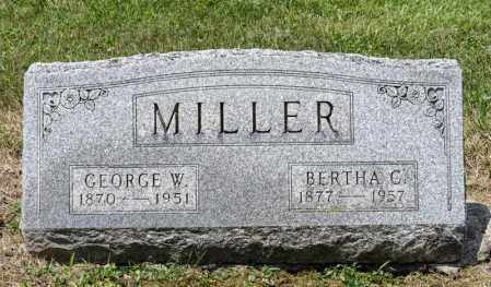 MILLER, BERTHA C - Richland County, Ohio | BERTHA C MILLER - Ohio Gravestone Photos