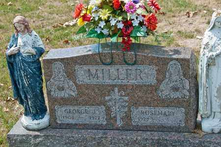 MILLER, GEORGE J - Richland County, Ohio | GEORGE J MILLER - Ohio Gravestone Photos