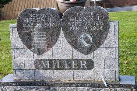 MILLER, GLENN E - Richland County, Ohio | GLENN E MILLER - Ohio Gravestone Photos