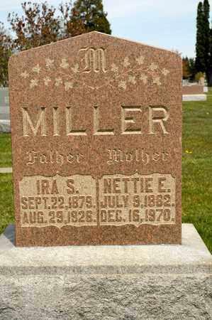 MILLER, NETTIE E - Richland County, Ohio | NETTIE E MILLER - Ohio Gravestone Photos