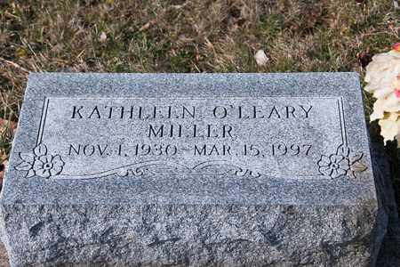 O'LEARY MILLER, KATHLEEN - Richland County, Ohio | KATHLEEN O'LEARY MILLER - Ohio Gravestone Photos