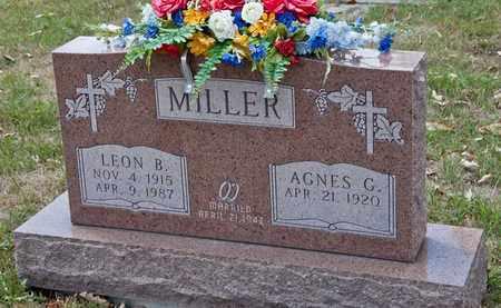 MILLER, LEON B - Richland County, Ohio | LEON B MILLER - Ohio Gravestone Photos