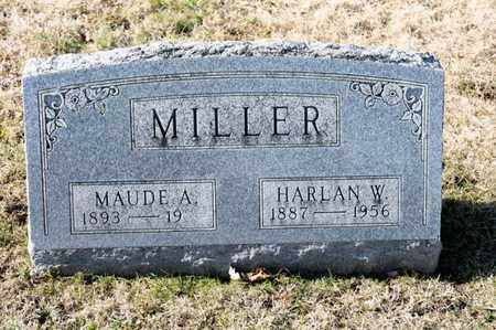 MILLER, HARLANW - Richland County, Ohio | HARLANW MILLER - Ohio Gravestone Photos