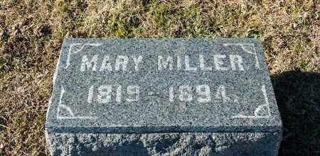 MILLER, MARY - Richland County, Ohio | MARY MILLER - Ohio Gravestone Photos