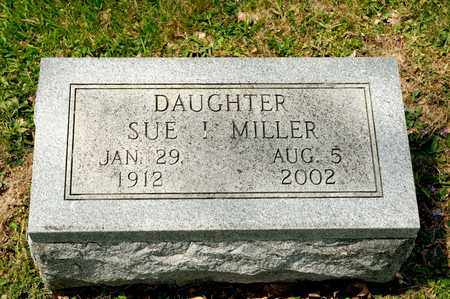 MILLER, SUE I - Richland County, Ohio | SUE I MILLER - Ohio Gravestone Photos