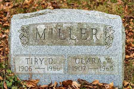 MILLER, TIRY D - Richland County, Ohio | TIRY D MILLER - Ohio Gravestone Photos