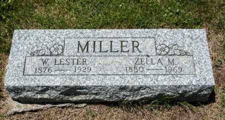 MILLER, ZELLA M - Richland County, Ohio | ZELLA M MILLER - Ohio Gravestone Photos