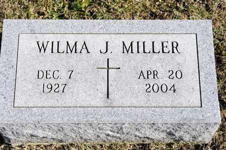 MILLER, WILMA J - Richland County, Ohio | WILMA J MILLER - Ohio Gravestone Photos