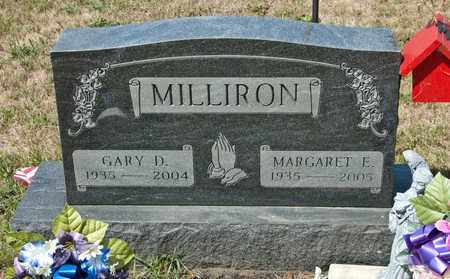 MILLIRON, MARGARET E - Richland County, Ohio | MARGARET E MILLIRON - Ohio Gravestone Photos