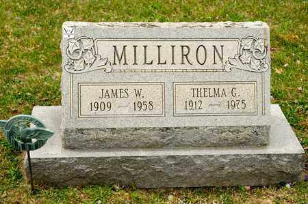 MILLIRON, JAMES W - Richland County, Ohio | JAMES W MILLIRON - Ohio Gravestone Photos