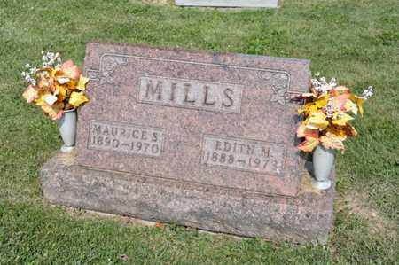 MILLS, MAURICE S - Richland County, Ohio | MAURICE S MILLS - Ohio Gravestone Photos