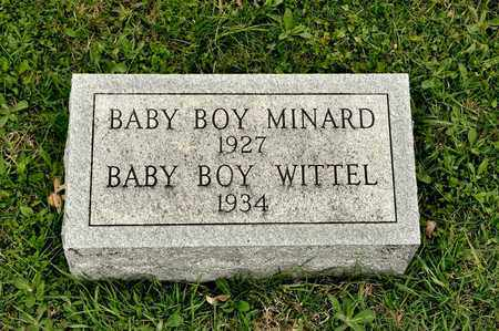 MINARD, BABY BOY - Richland County, Ohio | BABY BOY MINARD - Ohio Gravestone Photos