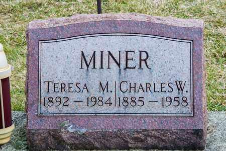 MINER, TERESA M - Richland County, Ohio | TERESA M MINER - Ohio Gravestone Photos