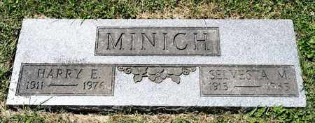 MINICH, HARRY E - Richland County, Ohio | HARRY E MINICH - Ohio Gravestone Photos