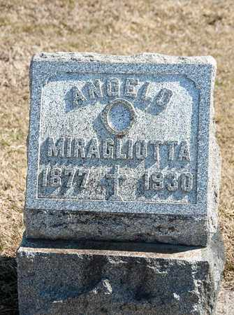 MIRAGLIOTTA, ANGELO - Richland County, Ohio | ANGELO MIRAGLIOTTA - Ohio Gravestone Photos