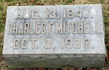 MITCHELL, CHARLES F - Richland County, Ohio   CHARLES F MITCHELL - Ohio Gravestone Photos