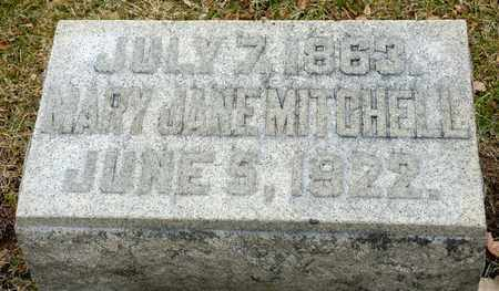 MITCHELL, MARY JANE - Richland County, Ohio | MARY JANE MITCHELL - Ohio Gravestone Photos