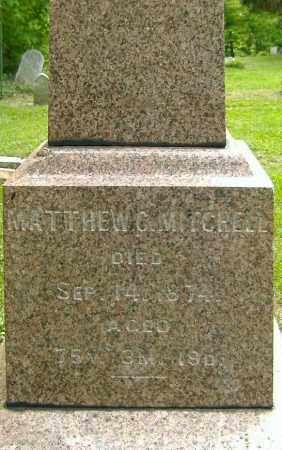 MITCHELL, MATTHEW C. - Richland County, Ohio | MATTHEW C. MITCHELL - Ohio Gravestone Photos