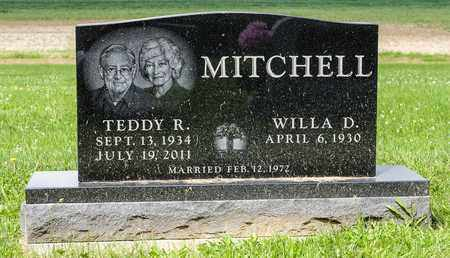 MITCHELL, TEDDY R - Richland County, Ohio | TEDDY R MITCHELL - Ohio Gravestone Photos