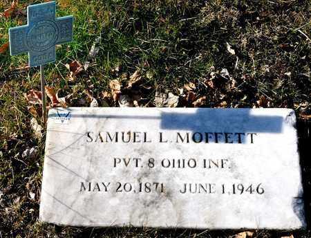 MOFFET, SAMUEL L - Richland County, Ohio | SAMUEL L MOFFET - Ohio Gravestone Photos