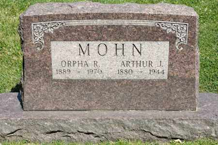MOHN, ARTHUR J - Richland County, Ohio | ARTHUR J MOHN - Ohio Gravestone Photos