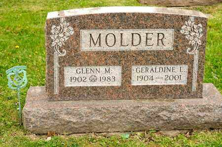 MOLDER, GERALDINE L - Richland County, Ohio | GERALDINE L MOLDER - Ohio Gravestone Photos